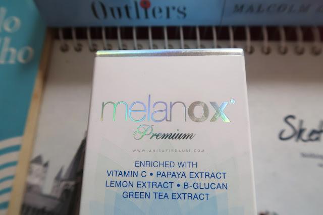 Kandungan Melanox Premium Face UV Protector SPF 30 PA++