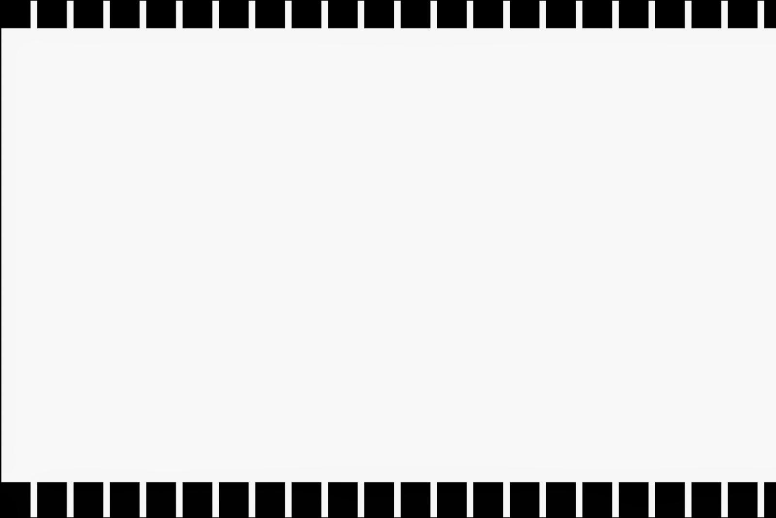 Para hacer invitaciones, tarjetas, marcos de fotos o etiquetas, para imprimir gratis de Rayas en Blanco y Negro