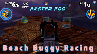 Menemukan Misteri 15 Easter Egg Telur Beach Buggy Racing
