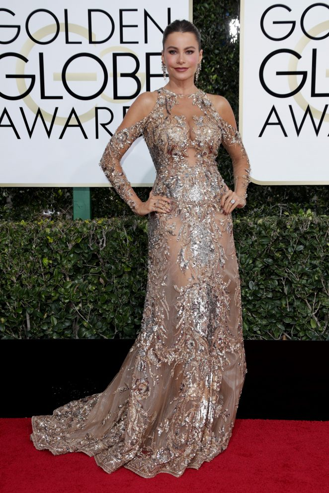 Sofia Vergara – 74th Annual Golden Globe Awards in Beverly Hills