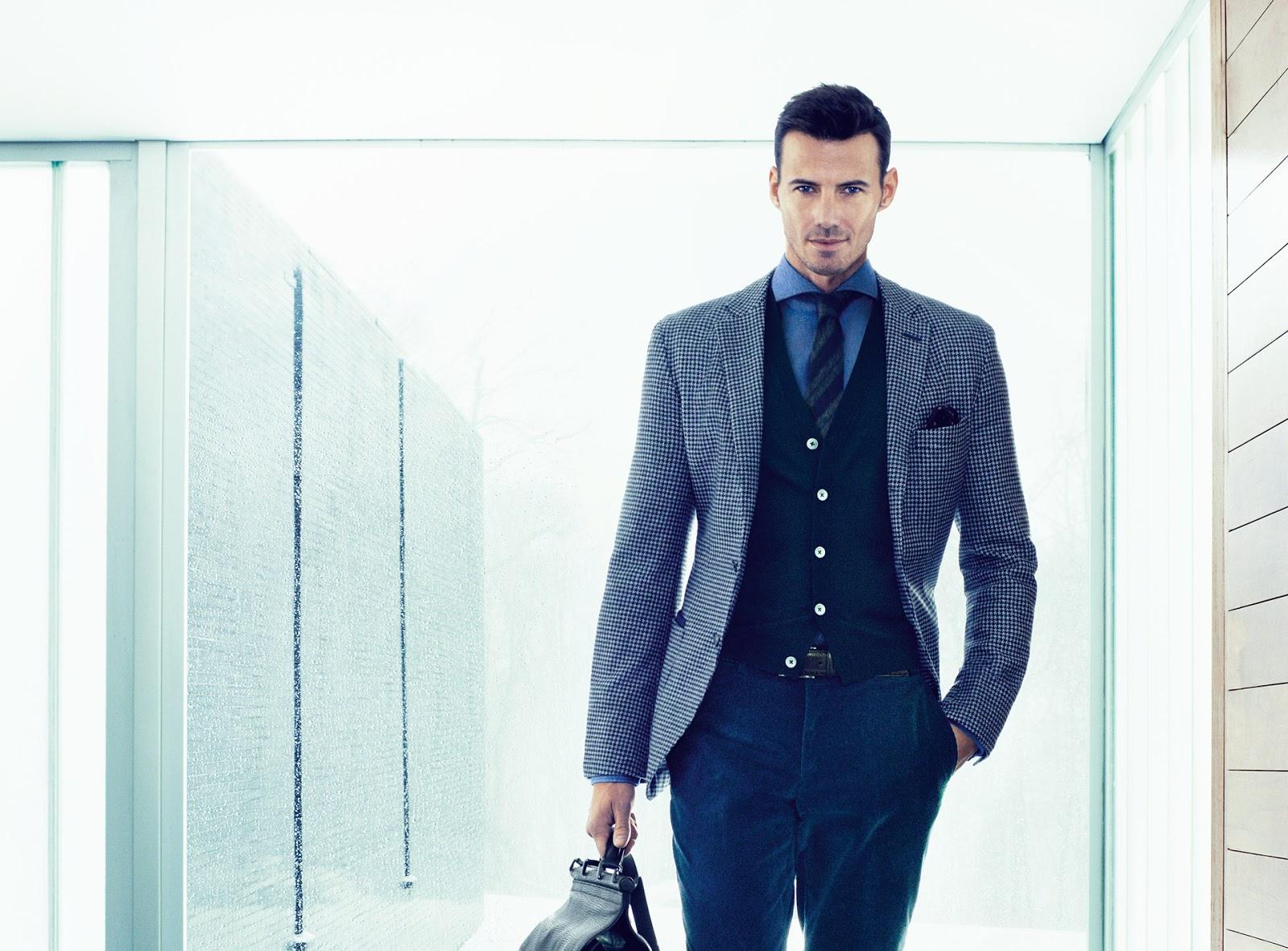 фото рекламы смешанной мужской одежды отношение