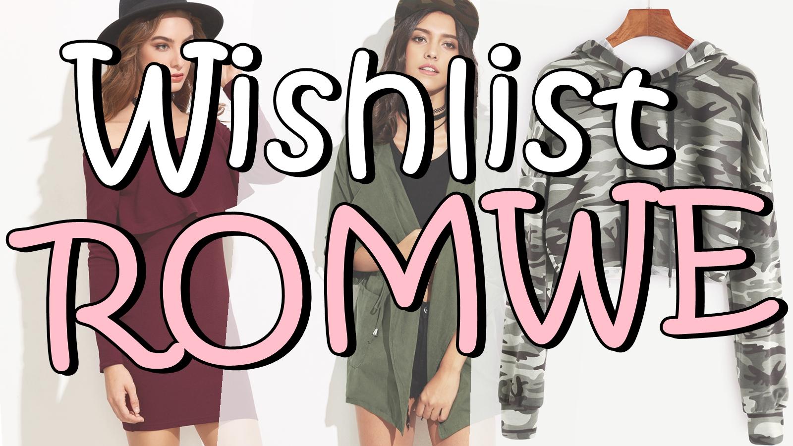 Wishlist Romwe