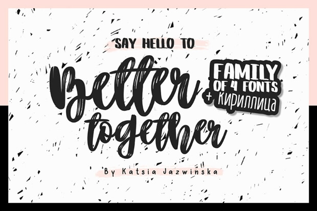 Better Together Script_free font