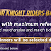 Win Daily KKR Merchandise and Free IPL match Tickets