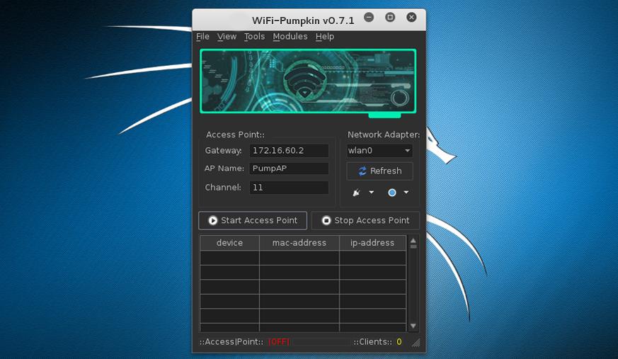 WiFi-Pumpkin - Framework For Rogue Wi-Fi Access Point Attack