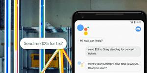 Google Pay interface