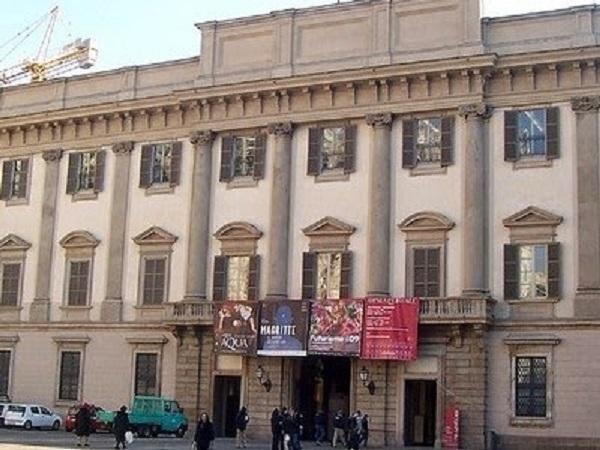Palácio Real em Milão na Itália