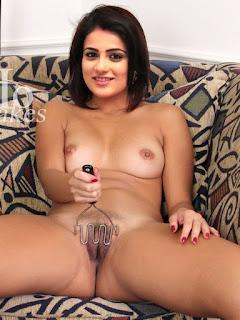 Naked Radhika Madan masturbating pussy
