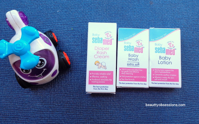 Sebamed Baby Skincare Products With pH5.5  - Review