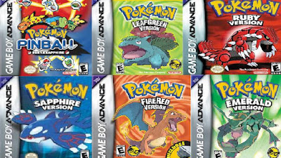 Pack de Pokémon GBA  7 en 1 link (PC) (GBA ROOMS) (Español) MEGA (RAR)