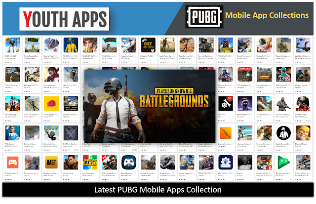 Latest PUBG Mobile Apps Collection, Guide, Tips & Tricks, Crack Code