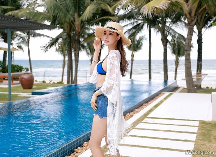 Image Park-Da-Hyun-MrCong.com-017 in post Bộ ảnh thời trang biển rực cháy quyến rũ của người đẹp Park Da Hyun (320 ảnh)