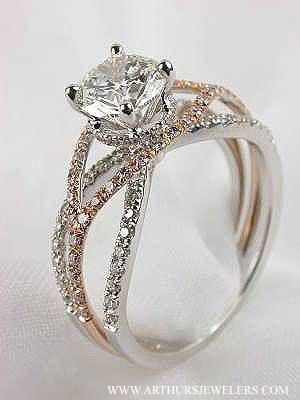 Tacori Crescent Wedding Band 73 Ideal Mark Silverstein Paradise Ring