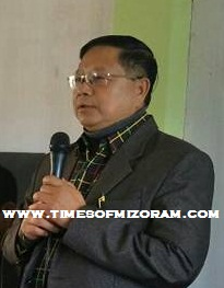 MNF Vice President Dr R Lalthangliana Thusawi