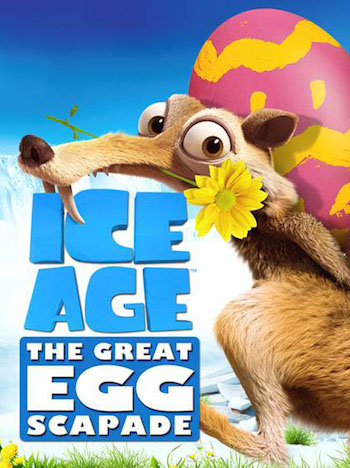 Download Ice Age The Great Egg Scapade 2016 English 720p WEB-DL 550MB