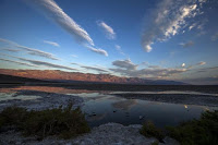Badwater, in Death Valley National Park, the lowest elevation in the Western Hemisphere at 280 feet below sea level, is seen at sunrise in California in this July 15, 2013 file photo. (Credit: Reuters/Lucy Nicholson/Files) Click to Enlarge.