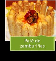 PATÉ DE ZAMBURIÑAS