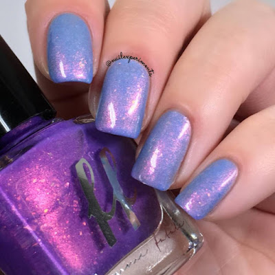 Femme Fatale Fates Bound Together swatch from the Fire Lily collection