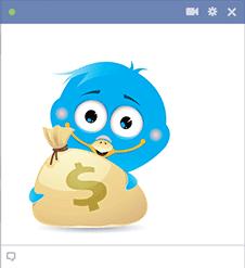 Little Blue Birds | Symbols & Emoticons