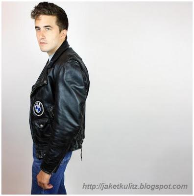 Gambar Jaket Kulit BMW Motorcycle