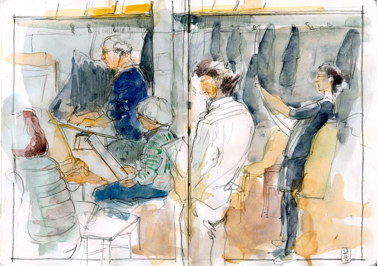 Urban Sketchers Paris Lacadémie De La Grande Chaumière Un
