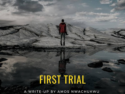 Amos Nwachukwu releases a Motivational Article Titled 'First Trial'