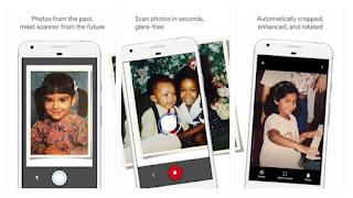 تطبيق photoscan من Google لتحويل الصور الورقيه الى رقميه للاندرويد والايفون
