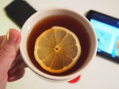 Té con limón