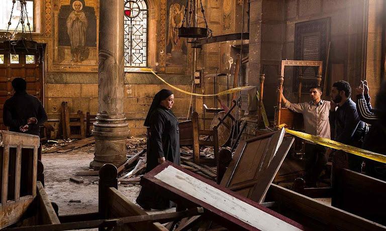 Atentado anti-católico no Egito.