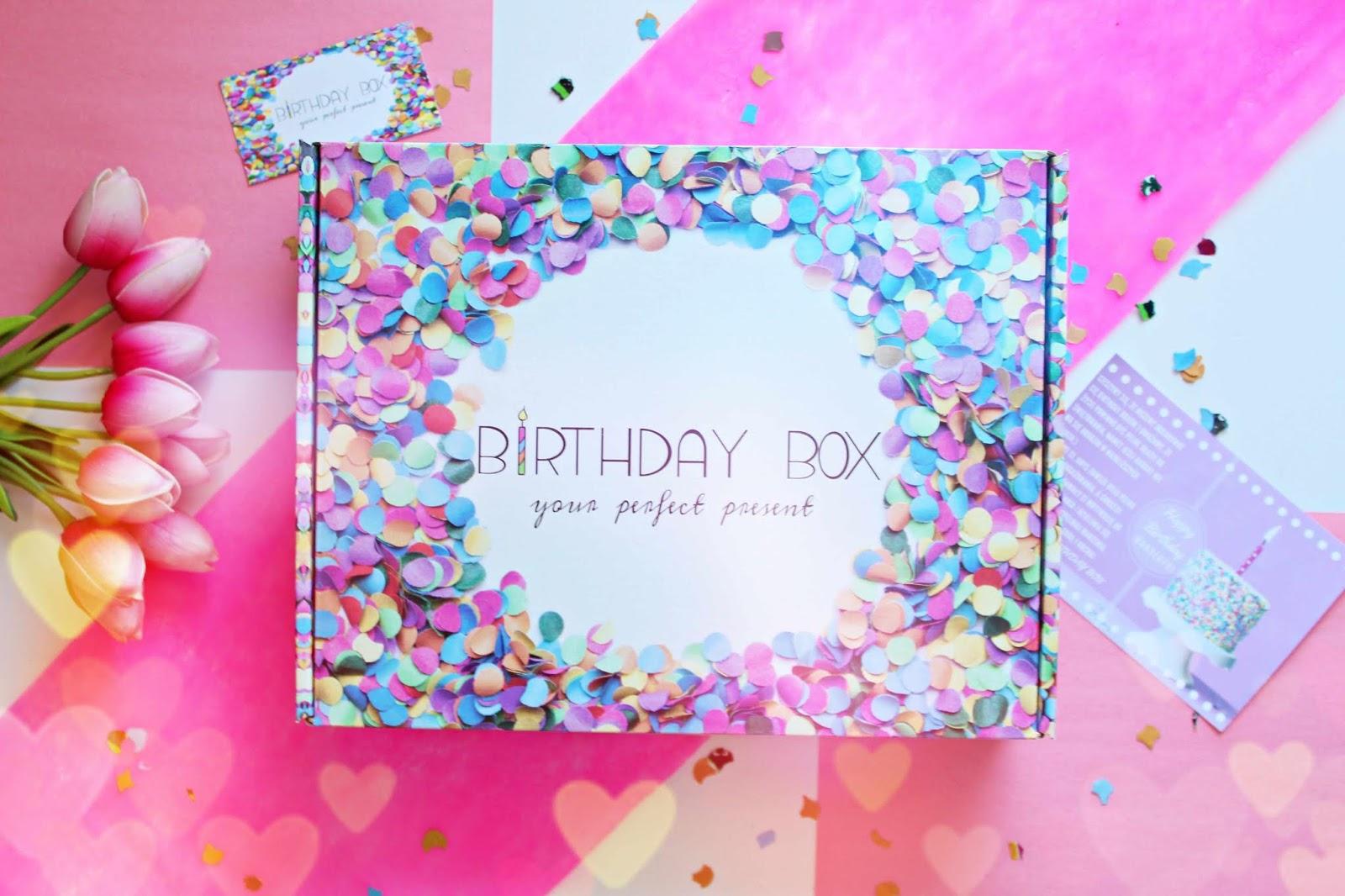 Birthday Box BASIC - świetny prezent na urodziny i nie tylko