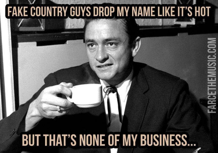 Farce The Music Monday Morning Memes Cmas Johnny Cash Chris Janson