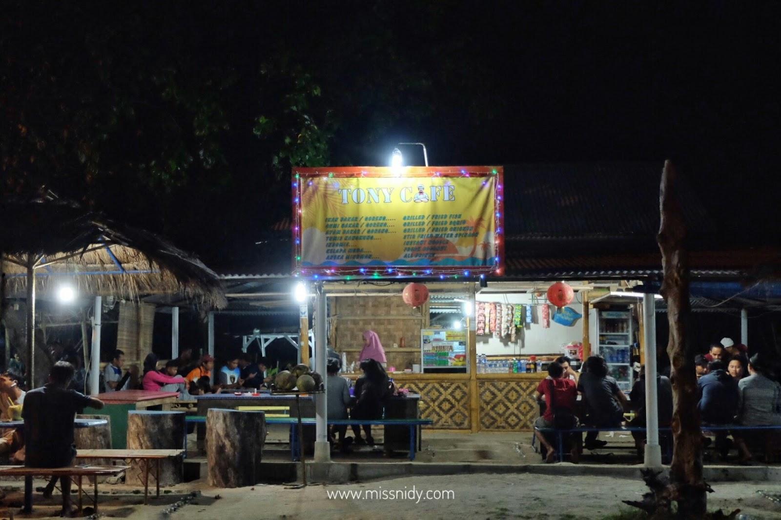 harga bbq seafood di pulau pari