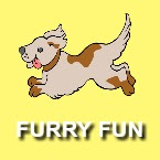 furry fun book icon