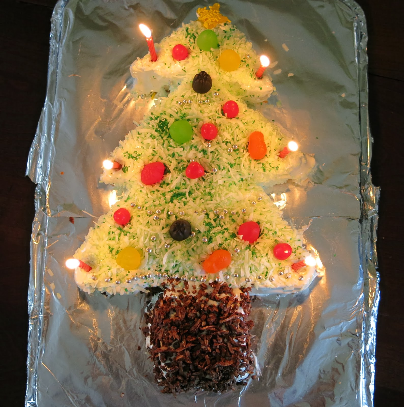 Caker Cooking: Christmas Tree Cake
