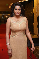 Actress Himaja Stills in Golden Spicy Long Dress at SIIMA Short Film Awards 2017 .COM 0302.JPG