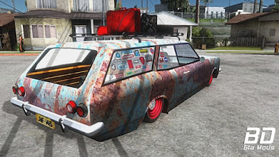 Mod , Carro , Caravan 1979 Ratlook para GTA San Andreas, GTA SA