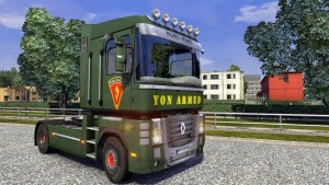 Yon Armed skin for Renault Mangnum