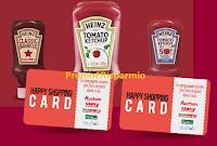 Logo Concorso ''Heinz spesa happy'': vinci 33 buoni Auchan da 150 !