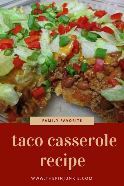 the best taco casserole recipe