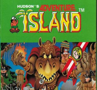 Hudson's Adventure Island, 1986, cartucho NES