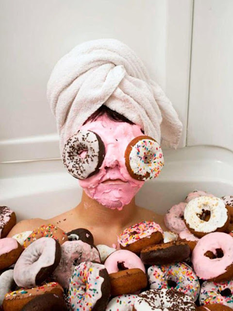 Donuts --- for eyes... sure. Why not.