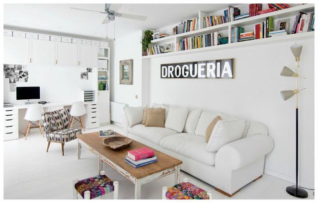 Eclecticismo hipster para un piso barcelonés