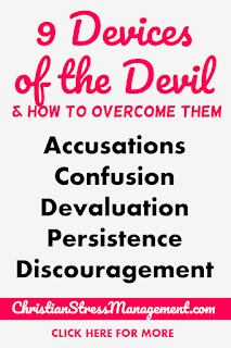 9 Devices of the devil and how to overcome them