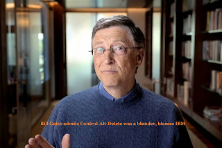 Bill Gates admits Control-Alt-Delete was a blunder, blames IBM