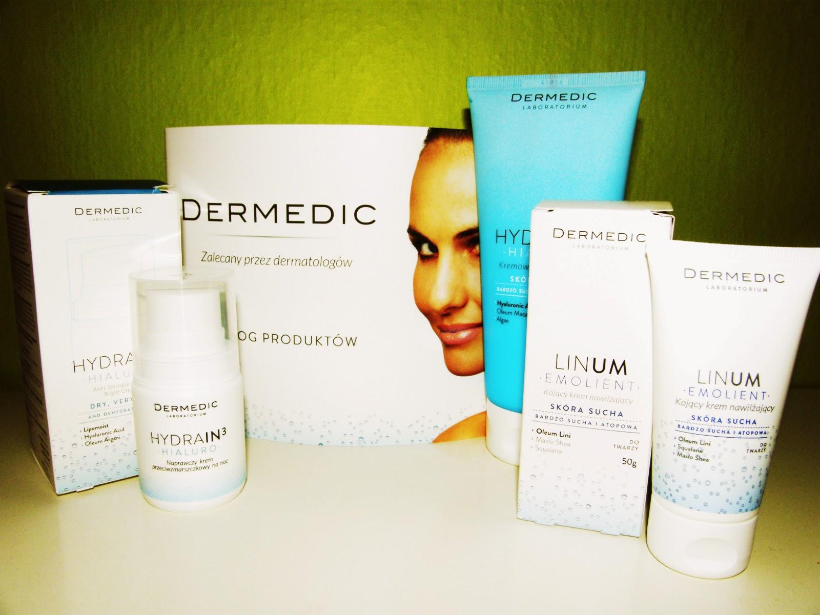 Kosmetyki DERMEDIC - sucha skóra to już przeszłość