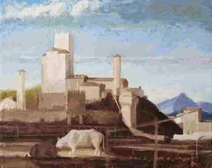 Современная итальянская художница. Ilaria Rosselli Del Turco