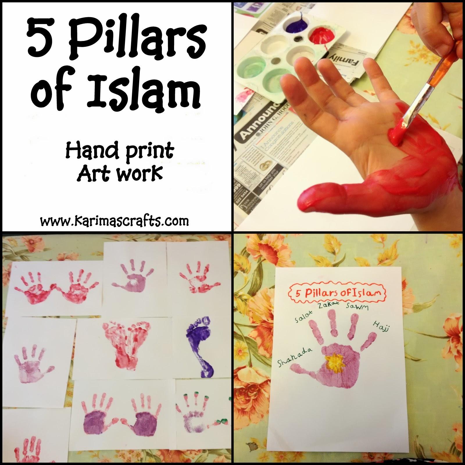Karima S Crafts 5 Pillars Of Islam Crafts