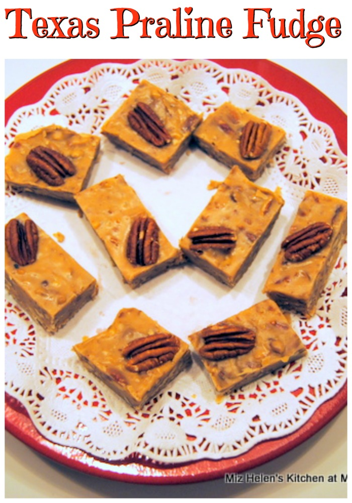 Texas Praline Fudge