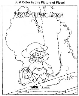 free fibel goes west coloring pages | Mostly Paper Dolls: October 2012