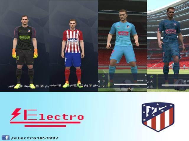Download kit atletico madrid pes 2019